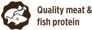 quality meat and fish protein