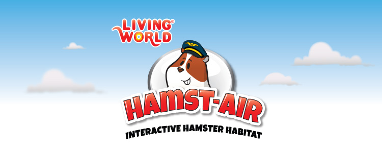 Living World Hamst-air Interactive Hamster Habitat