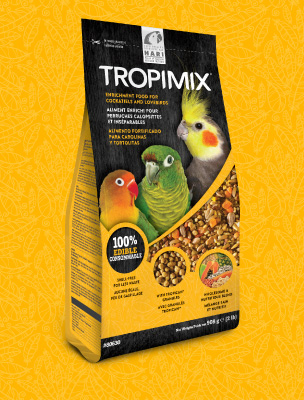 Tropimix: Enrichment food for Cockatiels and Lovebirds