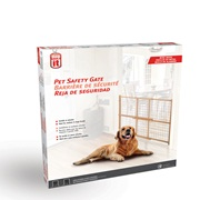 "Dogit Pet Safety Gate - Wire Mesh - 75 cm - 127 cm W x 81 cm H (29.5"" - 50"" W x 32"" H)"