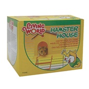 Living World Hamster House with Step Ladder