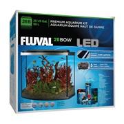 Fluval Premium Aquarium Kit with LED - 26 Bow - 98 L (26 US Gal)