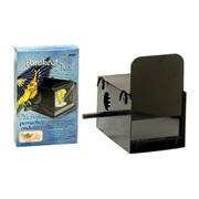 """Hagen Parakeet Nest Box Black 22 x 13.2 x 13.2 cm (8 5/8"""" x 5 1/4"""" x 5 1/4"""")"""
