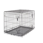Dogit Two Door Wire Home Crates with divider - Large - 91 x 56 x 62 cm (36 x 22 x 24.5 in)