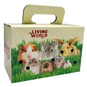 Living World Pet Carrier Carboard Box