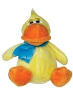 "Dogit Luvz Barnyard Friends Plush Dog Toy,Yellow Duck (15cm/6"")"
