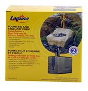 Laguna submersible water pump, for ponds up to 3560 L (940 US Gal)
