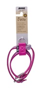 Avenue Petite Faux Croc Harness-Purple, Small