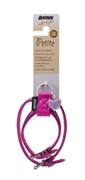 Avenue Petite Faux Croc Harness-Purple, Extra Small