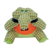 Bomber by Zeus Special Forces Team Dog Toy - Crusher the Crocodile - Large - 23 cm (9 in)