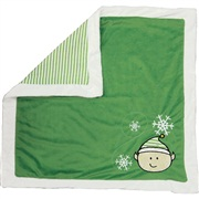 Dogit Christmas 2011 Small Dog Clothing & Toy Collection, Plush Elf Blanket, Green