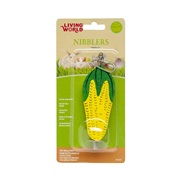 Living World Nibblers Wood Chews - Corn Cob on Stick