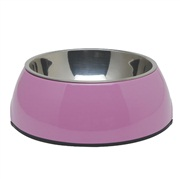 Dogit 2-in-1 Dog Dish-,XSmall, pink (160 ml/5.4 fl oz)
