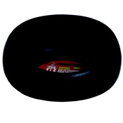 Dogit Round Ceramic Dog Dish-Black, Large (1L l / 33.8 fl oz)