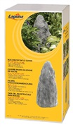 "Laguna Rock Receptacle Cover, large, 26 cm W x 51 cm H (10"" x 20"")."