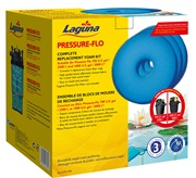 Laguna Pressure-Flo Replacement Foam - 19 cm - 3 pack