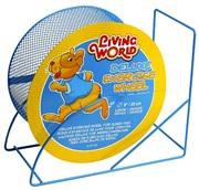 """Living World Deluxe Exercise Wheel - Blue - 22.5 cm (9"""")"""