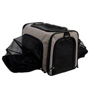 Dogit Explorer Soft Carrier Expandable Carry Bag - Gray
