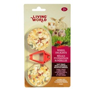 Living World Wheel Delights,  Carrot/Tomato/Herb, 2-pack