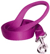Dogit Single Ply Nylon Training Dog Leash - Purple - Large (1.8 m/6 ft)