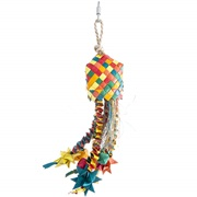 HARI Rustic Treasures Bird Toy Star Basket - Large