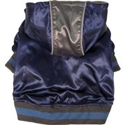 Dogit Style Fall/Winter 2011 Small Dog Clothing Collection -  Metallic Hoodie, Blue, Small