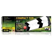 "Exo Terra Compact Top 60 x 9 x 20cm / 23.6"" x 3.5"" x 7.8"""