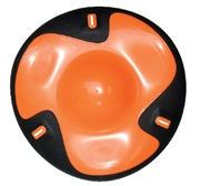 "Dogit Flying Disc Dog Toy, Orange (dia. 21.5cm/8.5"")"