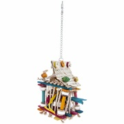 HARI Rustic Treasures Bird Toy Foraging Rope House