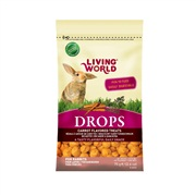 Living World Rabbit Drops - Carrot Flavour - 75 g (2.6 oz)