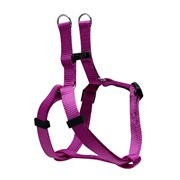 Dogit Style Adjustable Step In Dog Harness, Purple, XX-Small