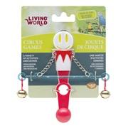 Living World Circus Toy, Balance, White/Red