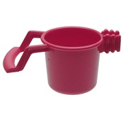 Living World Replacement Biscuit Cup, Red