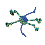 K9 Fitness by Zeus Rope and TPR Spider Ball - 30.48 cm dia. (12 in dia.)