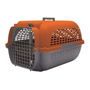 Dogit Voyageur Dog Carrier - Orange/Charcoal - Medium - 56.5 cm L x 37.6 cm W x 30.8 cm H (22 in x 14.8 in x 12 in)