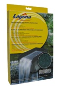"Laguna Mechanical/Biological Filter Pad,  44 cm x 35.5 cm x 37 cm x  3 cm (17"" x 14"" x 14.5 "" x 1- 3 /16"")."