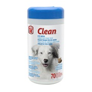 Dogit Clean Eye Wipes - 70 Unscented Wipes