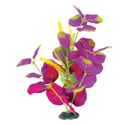 "Marina Naturals Indigo & Deep Red Moneywort Silk Plant - Large - 33 - 35.5 cm (13-14"")"