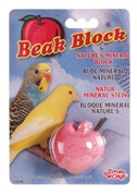 Living World Mineral Block for Parakeets Red Apple