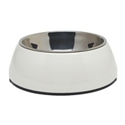 Dogit 2-in-1 Dog Dish-,XSmall, White (160 ml/5.4 fl oz)