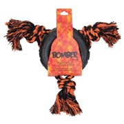 Zeus Bomber Triple Toss Rubber Dog Toy - 13.5 x 30 cm