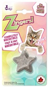 Cat Love Zingers! Heat pressed catnip toy - Star shape - 8.5 g
