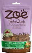 Zoe Tender Chunks - Chicken & Parmesan, 150 g (5.3 oz)