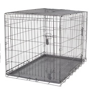Dogit Two Door Wire Home Crates with divider - XLarge - 106.5 x 70 x 77 cm (42 x 27.5 x 30 in)