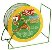 """Living World Deluxe Exercise Wheel - Green - 17.5 cm (7"""")"""