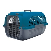 Dogit Voyageur Dog Carrier - Dark Blue/Charcoal - Small - 48.3 cm L x 32.6 cm W x 28 cm H (19 in x 12.8 in x 11 in)