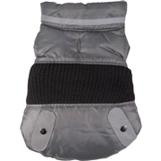 Dogit Style Fall/Winter 2011 Small Dog Clothing Collection - Sport Utility Vest, Gray, Small