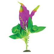 "Marina Naturals Indigo & Green Sword Leaf Silk Plant - Medium - 23 - 25.5 cm (9-10"")"