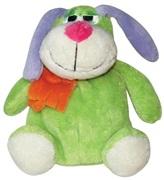 "Dogit Luvz Barnyard Friends Plush Dog Toy, Green Dog (15cm/6"")"