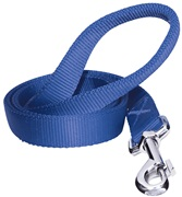 Dogit Single Ply Nylon Training Dog Leash - Blue - Medium (1.8 m/6 ft)
